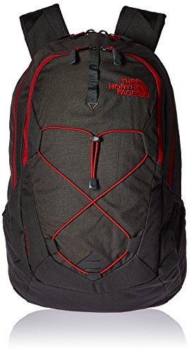 the-north-face-jester-rucksack-asphalt-grey-dark-heather-cardinal-red-one-size
