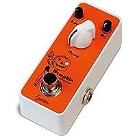 EAGLETONE Pumpkin Pedal de efecto de compresor para guitarra, color naranja