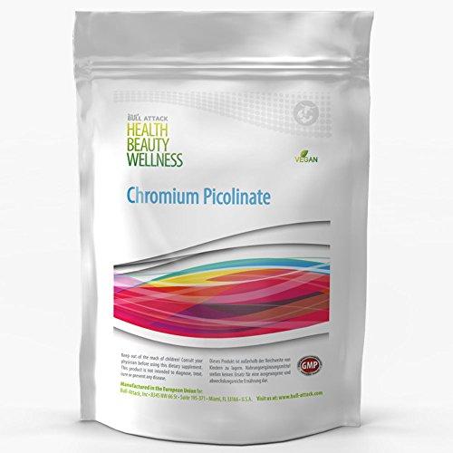 Chromium Picolinate | 500 Tabletten (vegan) á 200 mcg | Pharmaqualität aus EU-Produktion | Nach ISO und GMP-Standard produziert | Preishammer