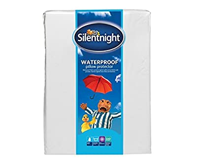Silentnight Waterproof Pillow Protector, Pack of 2