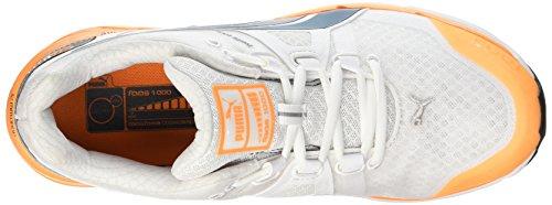 Puma Unisex-Erwachsene Faas 1000 v1.5 Laufschuhe Blanc (White/Blue Wing Teal)