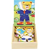 Ulysse Couleurs d'enfance 1139 - Puzzle con piezas para encajar (madera), diseño de osos