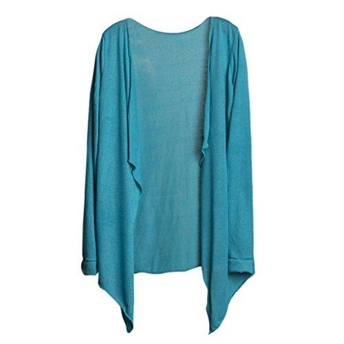 Amlaiworld Donna Cardigan,estive lungo cime moda protezione solare abbigliamento H