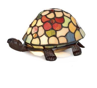 Tiffany Lampe Schildkröte Flower, Tiffany klein, Tiffanylampe, Tiffany Lampe,