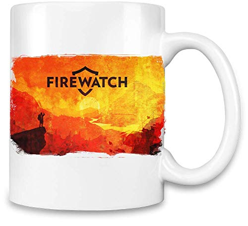 Style Matters Rote Feuerwache - Red Firewatch Unique Coffee Mug | 11Oz Ceramic Cup| The Best Way to Surprise Everyone On Your Special Day| Custom Mugs by