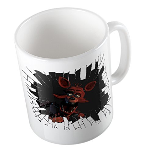 FIVE NIGHTS AT FREDDYS MUG (BROKEN GLASS FOXY)