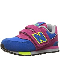 separation shoes 090ff e997d New Balance Unisex-Kinder Kv574cki M Hook and Loop Sneakers, TealWhite