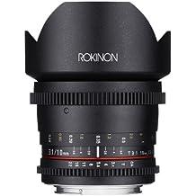 ROKINON Cine CV10M-C SLR - Objetivo (SLR, 14/9, Objetivo ultra ancho, 0,24 m, Canon EF, Manual)