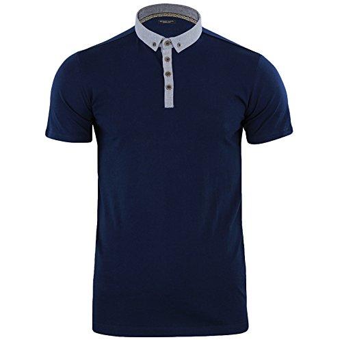 maglietta-uomo-stile-polo-chimera-brave-soul-denim-manica-corta-cotone-chimera-navy-xl