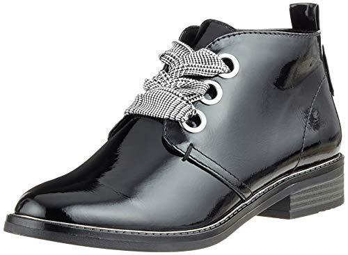 MARCO TOZZI Damen 25130-31 Stiefeletten, Schwarz (Black Patent 018), 41 EU
