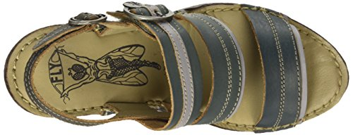 Fly London - SALM631FLY, Sandali Donna Multicolore (DIESEL/ICE/ANTHRACITE 004)
