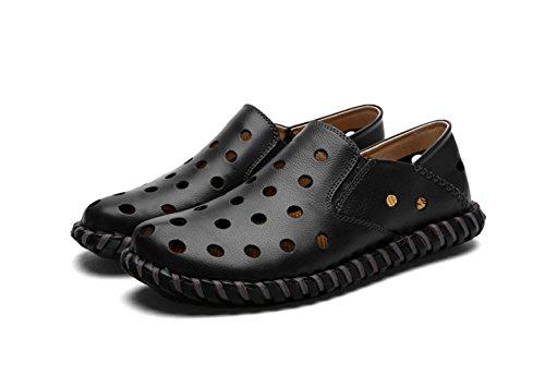 Sandalen Sandalen Männer Hausschuhe Outdoor-Watschuhe Black