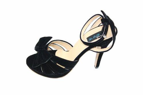 Wear & Walk UK , Damen Sandalen Schwarz