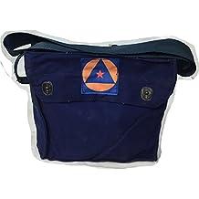 Serbian vintage police surplus canvas / cotton shoulder message bag