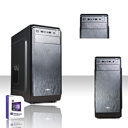 PC DESKTOP INTEL QUAD CORE CON LICENZA WINDOWS 10 PROFESSIOANAL 64 BIT/HD 1TB/RAM 8 GB DDR3 /HDMI-DVI-VGA/USB 3.0,2.0,AUDIO,VIDEO,LAN/RW-DVD LG/PC FISSO COMPLETO, UFFICIO,CASA,SCUOLA, SOCIAL NETWORK