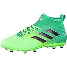 Adidas Ace 17.3 Primemesh Fg, para los Zapatos de Entrenamiento de Fútbol para Hombre, Verde (Versol/Negbas/Verbas), 40 EU