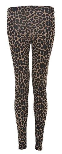 Generic - Legging - Leggings - Femme Multicolore - Léopard