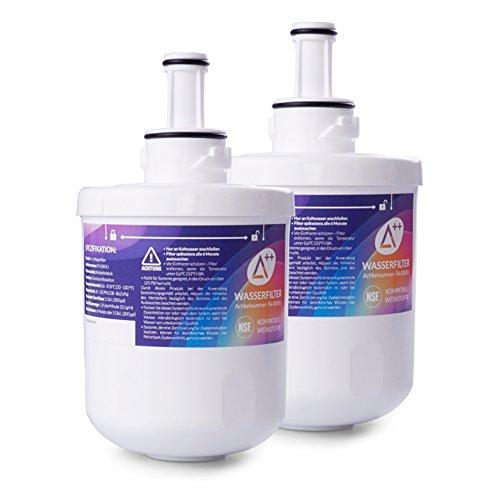 2x Aqualogis Filtro Agua Nevera Compatible Con Samsung Da29-00003f Hafin1exp Electrodomésticos