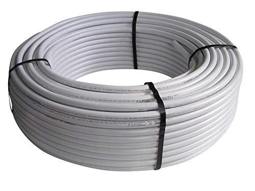 Mehrschichtverbundrohr, Aluverbundrohr 20x2mm, AL/PE-Xb nach DVGW, diffusionsdicht, 10m, 25m, 50m, 100m Rollen, Länge:25m