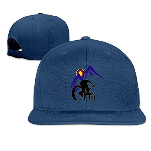 Preisvergleich Produktbild uykjuykj Baseball Caps Hats Funny Bag Mountain Bike Race Caps Cap Flat Along Baseball Caps Adjustable Unique Personality Cap Baseballmütze