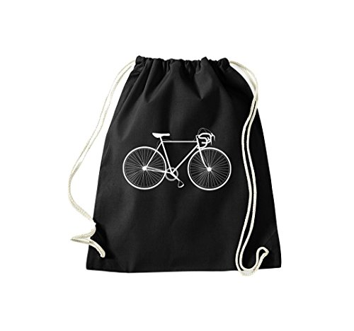 Turnbeutel Fahrrad bike Rad Bonanza BMX Kult Gymsack Kultsack schwarz