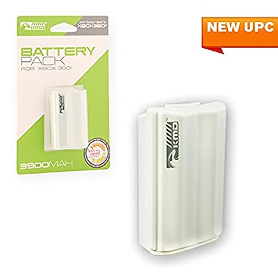 KMD 3900mAh Rechargeable Battery for Microsoft Xbox 360 White by KMD