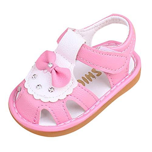 YpingLonk ❣ Baby Cartoon Sandalen Kleinkind Schuhe weichen Boden rutschfeste Babyschuhe Unisex Sommer Casual Krabbelschuhe Babyhausschuhe -