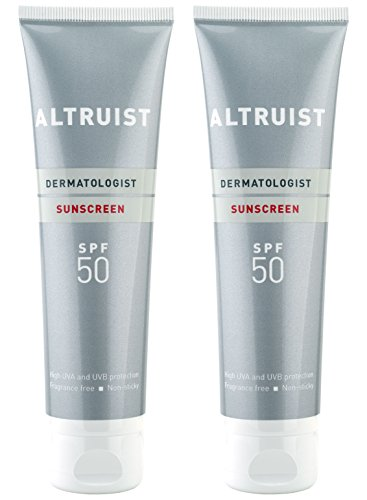 Altruist Dermatologist Sunscreen SPF 50 - high UVA protection, 100 ml (2 x 100 ml)