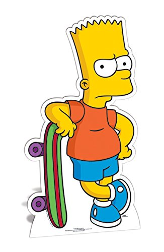 Bebegavroche Figurine en Carton Taille réelle Bart Simpson