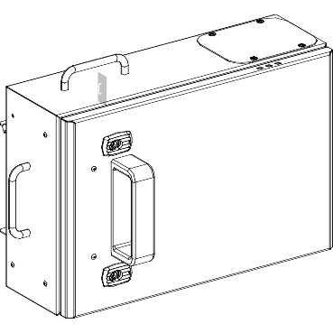 schneider-electric-ksb160se4-canalis-ks-set-abzweigdose-fur-sicherung-nf-t00-3l-n-pe-160-a-230-690-v