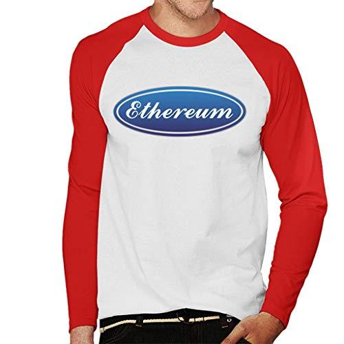 Coto7 Ethereum Ford Logo Men's Baseball Long Sleeved T-Shirt