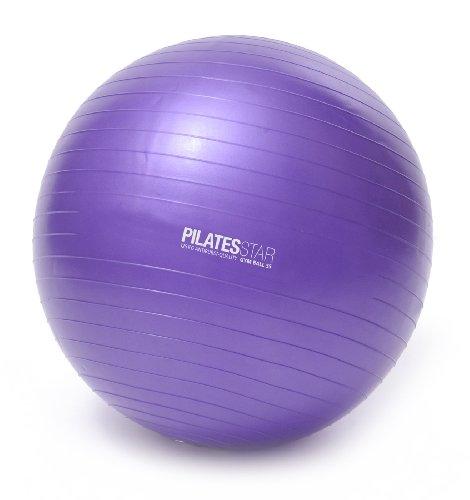 Yogistar Gymnastikball/Pilatesball - 65 cm - Violett