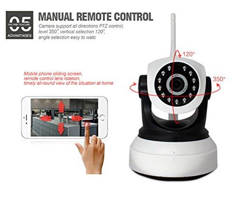 Objektiv Dome-gehäuse Wandhalterung (- Kamera, für Innen-/Außenbereich/-Indoor-Kameras, WLAN Indoor-Kamera, Sicherheit Kamera Innen mit IR-Cut/WiFi für Nachtsicht Überwachungskamera Kreditkartenfächern in Mikrofon Night Vision Überwachungskamera Eingebauter Mikrofon)