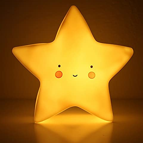 Zqmdthe Shine-bright Soleil Lune étoiles lumière de nuit LED enfants Nuit Light-random Couleur