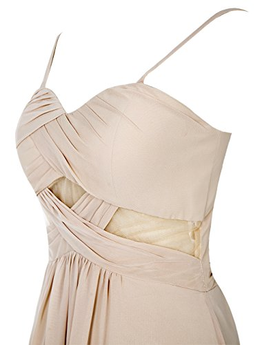 Bbonlinedress Robe de soirée Robe de demoiselle d'honneur bretelles spaghetti longueur ras du sol Lavande