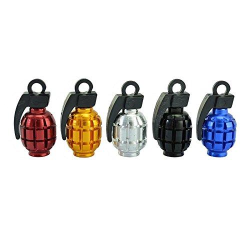 DXEWSE Auto Fahrrad Granate Modellierung diy Motorhauben, verhindern Leck Vielzahl von Farben Mode kühlen , - Ventildeckel 350