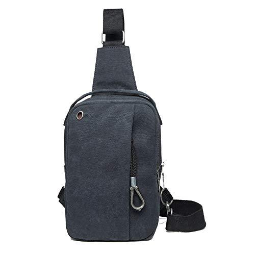 FREEML Brusttasche Männer koreanische Version der Flut Tasche Umhängetasche Casual Canvas Tasche Rucksack Tasche Umhängetasche Männer Tasche
