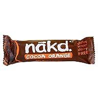Nakd Cocoa Orange 3 Raw Fruit & Nut Wholefood Bars 3x35 Grams (105 g)