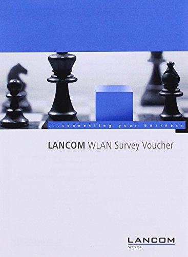 Service / LANCOM WLAN Survey Voucher - 1 / Voucher zur Abrechnung bei Inanspruchnahme von LANCOM WLAN Survey Services für eine professionelle Planung und effiziente Umsetzung von WLAN-Infrastrukturen. Die Menge der benötigten Voucher variiert je nach ausg