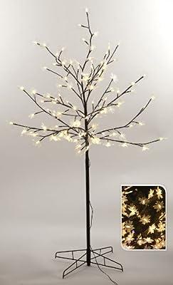 Lichterbaum mit 120 LEDs Indoor und Outdoor 150cm hoch von Schöner-Leben auf Lampenhans.de