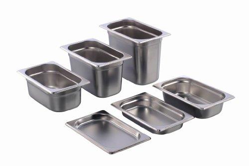 GN Behälter Gastronorm 1/4 Edelstahl (100 Millimeter) - Primäre Behälter