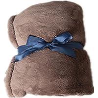 Black Temptation Oficina sofá Almuerzo Caliente Manta de algodón Hoja súper Blando #10 - Muebles de Dormitorio precios