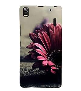 Flower 3D Hard Polycarbonate Designer Back Case Cover for Lenovo A7000 :: Lenovo A7000 Plus :: Lenovo K3 Note