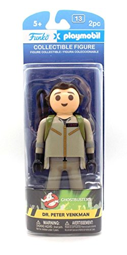 Funko - Figurine Ghostbusters Playmobil - Peter Venkman 15cm - 0849803088170