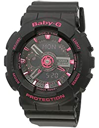 Casio Baby-G Analog-Digital Black Dial Women's Watch - BA-111-1ADR (B148)