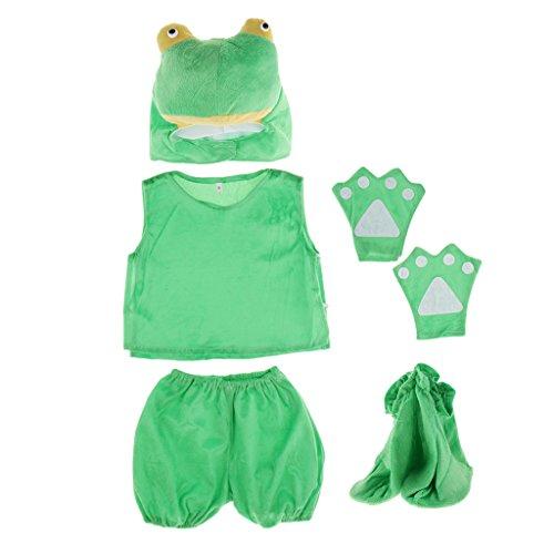 kostüm Tier Kostüm Baby Fotoshooting Kostüm für Halloween Karneval Fasching - Frosch ()