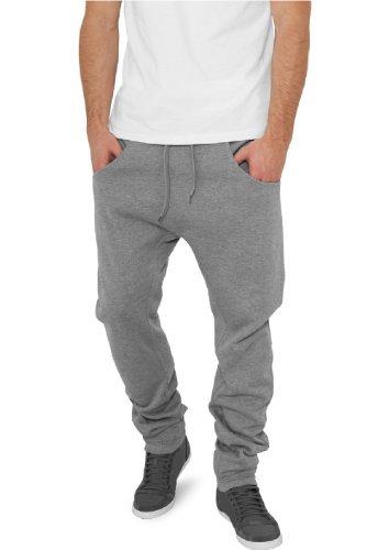 """Urban Classics pantaloni da jogging """"deep forcella in felpa"""", taglia: XL, colore: grigio"""