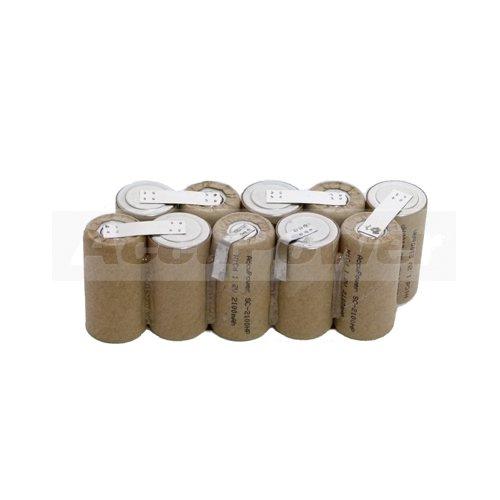 Batterie adapter pour Gardena 2110-20, V12, 12V, AP12
