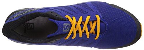 Salomon City Cross Herren Traillaufschuhe Blau (G Blue/Black/Yellow Gold)