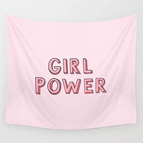 gthytjhv Tapiz Girl Power Wall Tapestry Hanging Tapestries Wall Art for Living Room Bedroom Dorm Decor